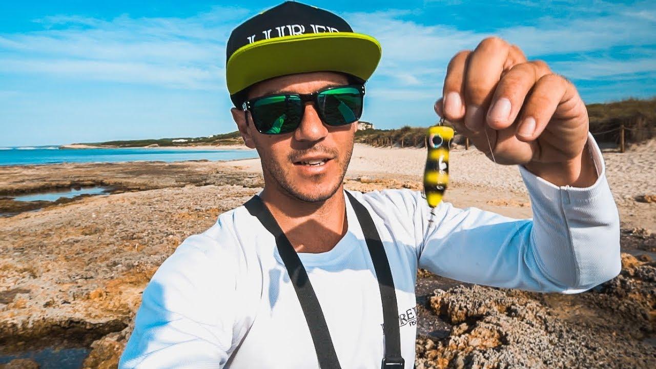SPINNING y FLY FISHING para PALOMETONES en PLAYA CRISTALINA | Lured Vlog 61