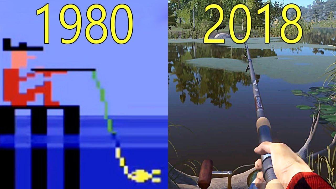 Evolution of Fishing Games 1980-2018