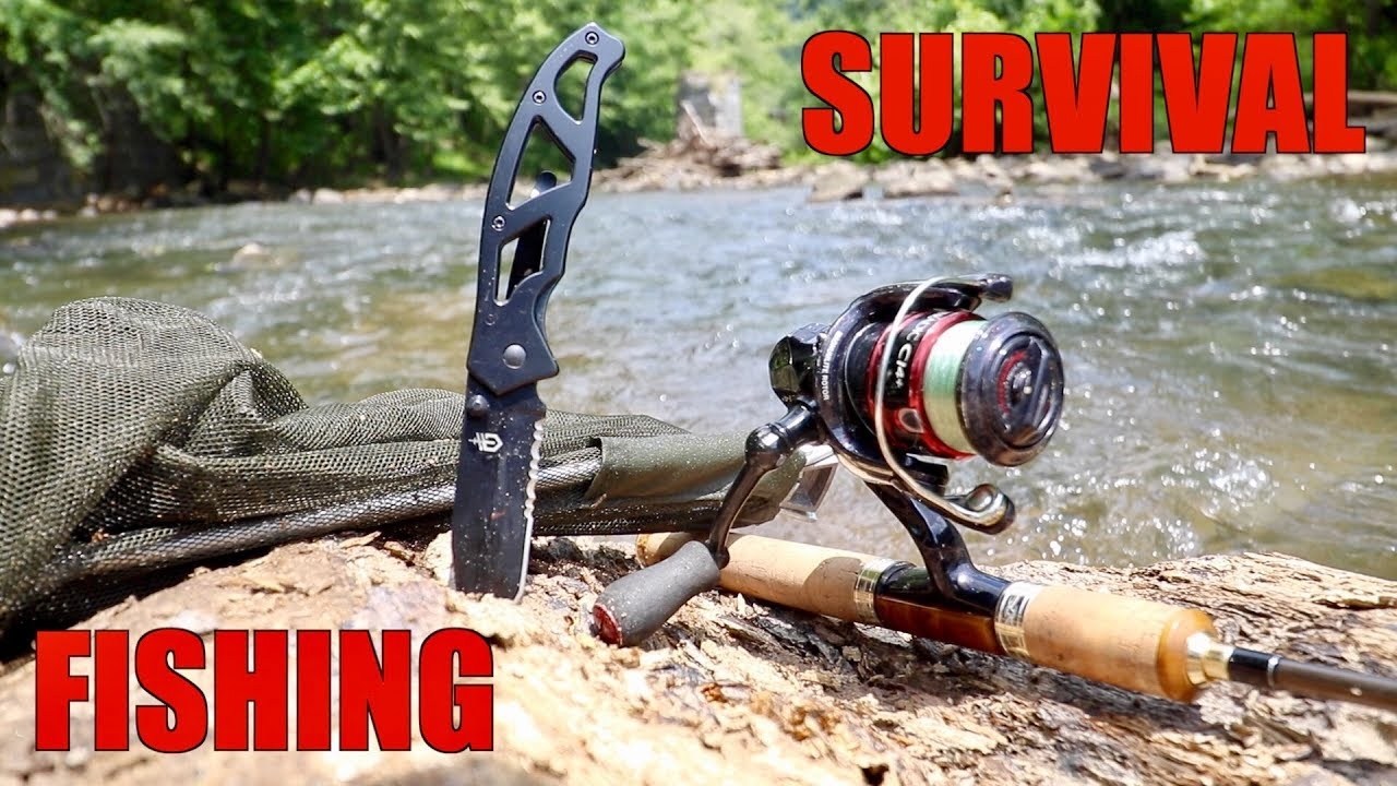 SURVIVAL FISHING CHALLENGE!!! (NO Lures & NO Bait)