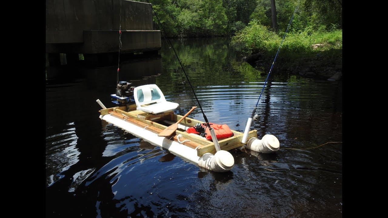 Cheap $100 Homemade PVC Fishing Kayak How To